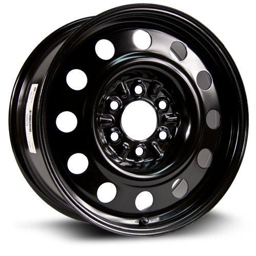 RTX, Steel Rim, New Aftermarket Wheel, 18X7.5, 6X135, 87.1, 40, Black finish X45515