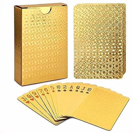 Decoraciones para fiestas - Cartas de póquer impermeables de ...