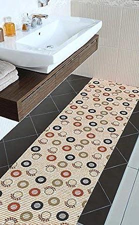 Weichschaumbelag Füße Meterware Badvorleger Bodenbelag 65 cm breit 562-2