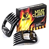 BEAR CLAWS Meat Shredder - For Perfectly Shredded Meat, These Are The Meat Claws You Need - Best Pulled Pork Shredder Claws For BBQ, Smoker, Grill - Shred Your Meat, Don't Burn Your Hands!