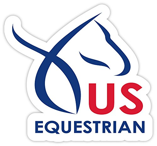 US EQUESTRIAN sticker decal 4