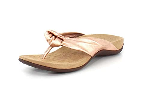 877e6bdbdb8aaa Vionic Women s Pippa Toe Post Sandals in Rose Gold  Amazon.ca  Shoes ...