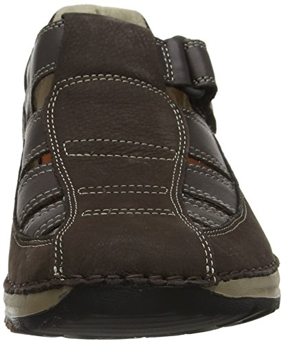 Purposeorts Fermé Brown Lite Sandales Rockport Homme Rockstyle Marron Bout dark 7wFqzzf5