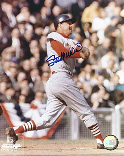 - Autographed Stan Musial 8X10 Photo St Louis Cardinals