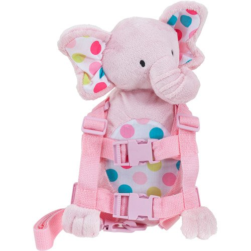 Carter's Child of Mine 2 in 1 Harness Buddy Pal Elephant, Pink (Child Of Mine 2 In 1 Harness Buddy)