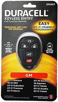 Lightning Strike GM045D Keyless Remote