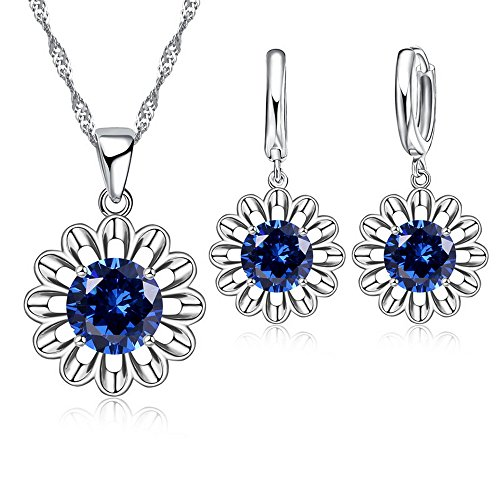 Sun Flower Romantic Jewelry Se...