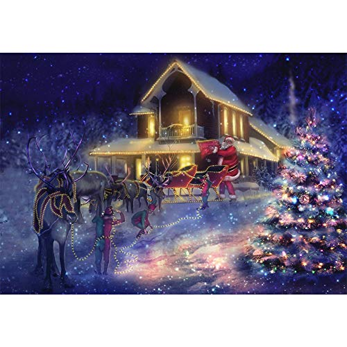 AKwell 5D Embroidery Paintings Rhinestone Pasted DIY Diamond Painting Cross Stitch Christmas Snowman Arts Craft for Canvas Wall Decor