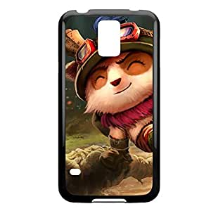 Teemo-001 League of Legends LoL case cover Ipod Touch 4 - Plastic Black