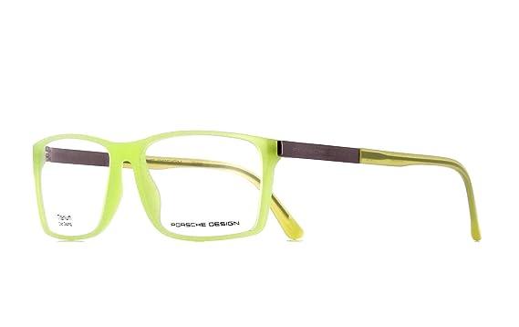 4f10a42ae72 Amazon.com  Porsche Design Titanium Eyeglasses P8260 D Light Green ...