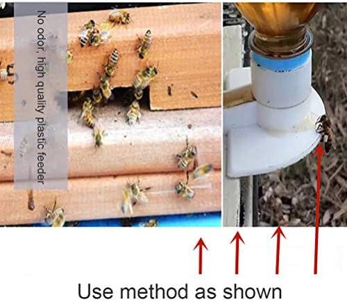 Macabolo Bienenstock Eintritt Feeder, 20 Pack Kunststoff BienenFüe Feeder Bienen Wasser Fütterung Werkzeug Imkerei Ausrüstung