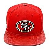 Pro Standard Men's NFL San Francisco 49Ers Logo Buckle Hat W/Pins Red