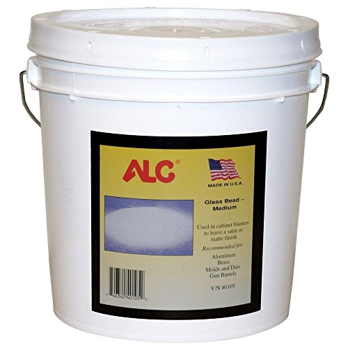 ALC Medium Glass Bead Blasting Abrasive - 25 Lbs.