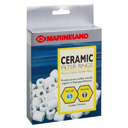 Marineland PA11484 Canister Filter Ceramic Rings, 140-Count from MarineLand