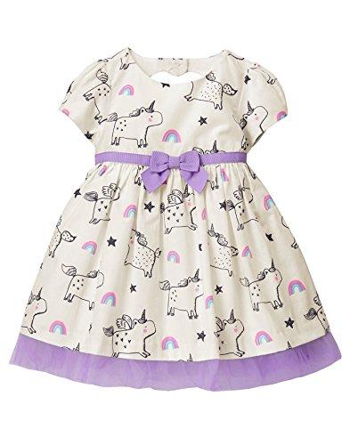 Gymboree Baby Girls Heart Cutout Dress, White Heart, 12-18 Mo