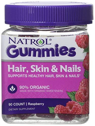 Natrol Hair Skin & Nails Gummy, 90 Count