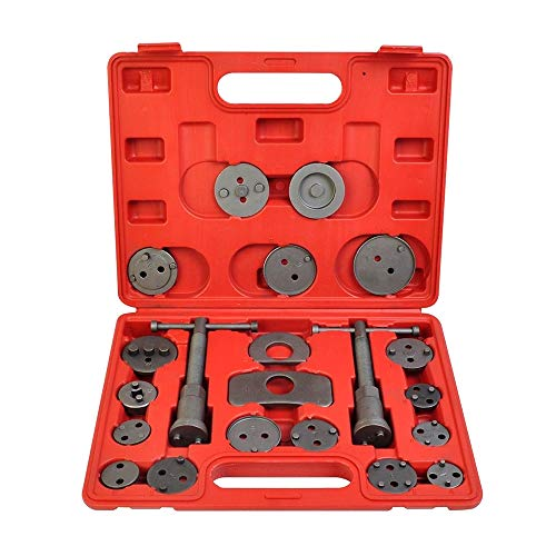 A ABIGAIL Disc Brake Caliper Wind Back Tool Kit Front and Rear Brake Piston Compression Tool Professional Automotive Mechanic Tool Set