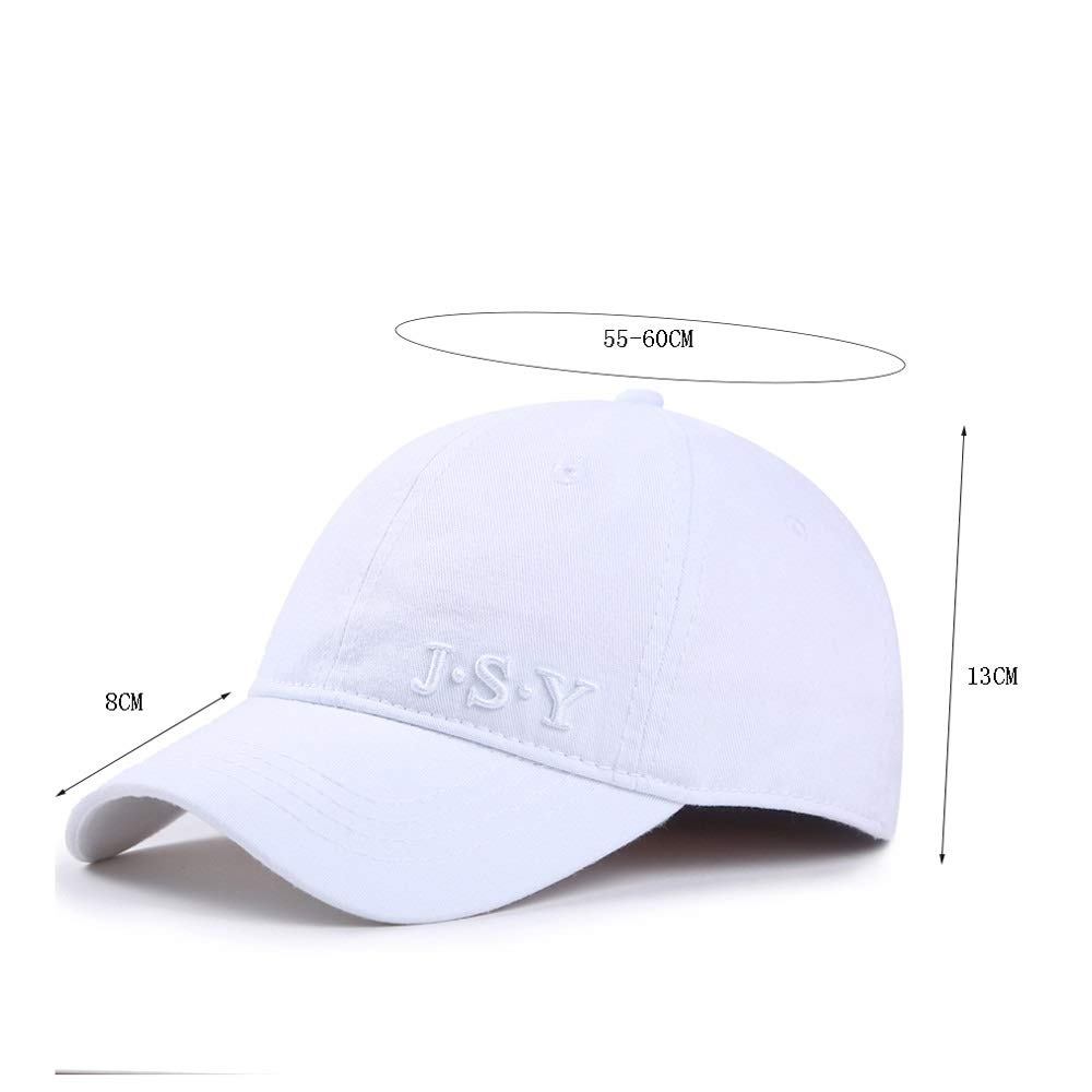 Color : Black LDDENDP Quick-drying Cap For Outdoor Sports Caps For Men And Women Hat Baseball Cap 100/% Cotton Cap Daddy Cap Simple Black Summer Casual Hat Curved Cap Washable And Adjustable