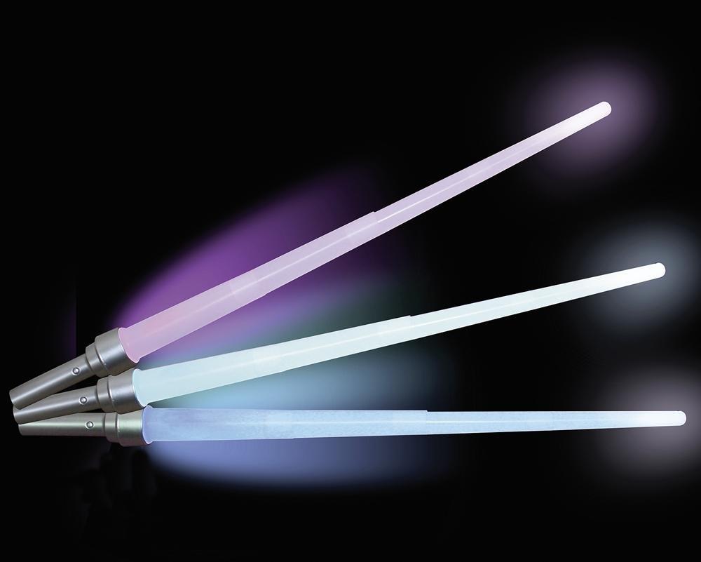 Kristall Fx Lichtschwert Laserschwert leuchtend verschiedene Farben Close Up 26264