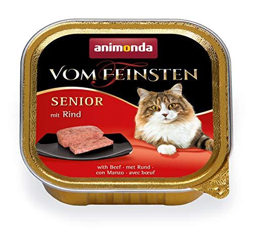 animonda Vom Feinsten Senior Nassfutter, für ältere Katzen ab 7 Jahren