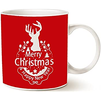 Amazon Com Mauag Christmas Gifts Holiday Coffee Mug Wish