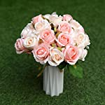 nyrzt-artificial-flowers-silk-plastic-roses-24-heads-bridal-wedding-bouquet-decoration-for-home-garden-party-wedding-pink-champagne2