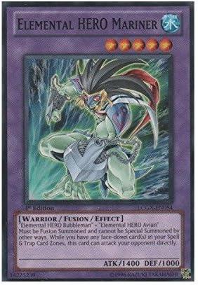 YUGIOH CARD Elemental Hero Rampart Blaster  LCGX-EN047  Super Rare PACK FRESH!!