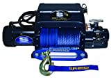 blue 9500 lights for a car - Superwinch 1695211 Talon 9.5iSR, 12 VDC winch, 9,500 lb/4,309 kg capacity with hawse fairlead & synthetic rope