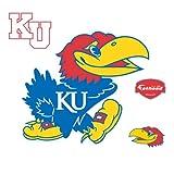 NCAA Kansas Jayhawks Logo Wall Decal
