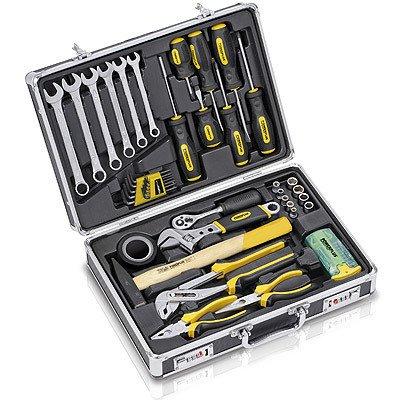 Handwerkzeug Set 51tlg. Schraubenzieher, Schlüssel, Zangen POW XTS020