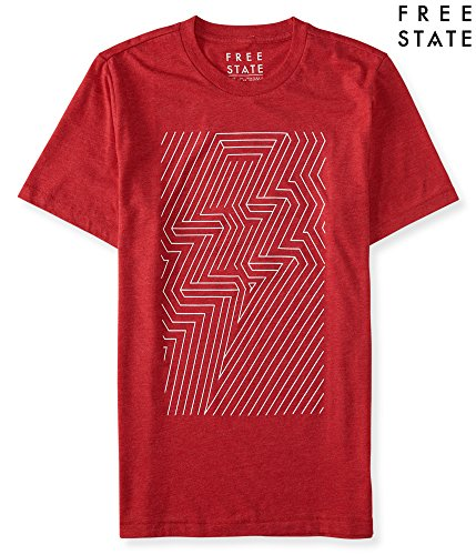 aeropostale-mens-free-state-maze-graphic-t-shirt-xl-red-sky