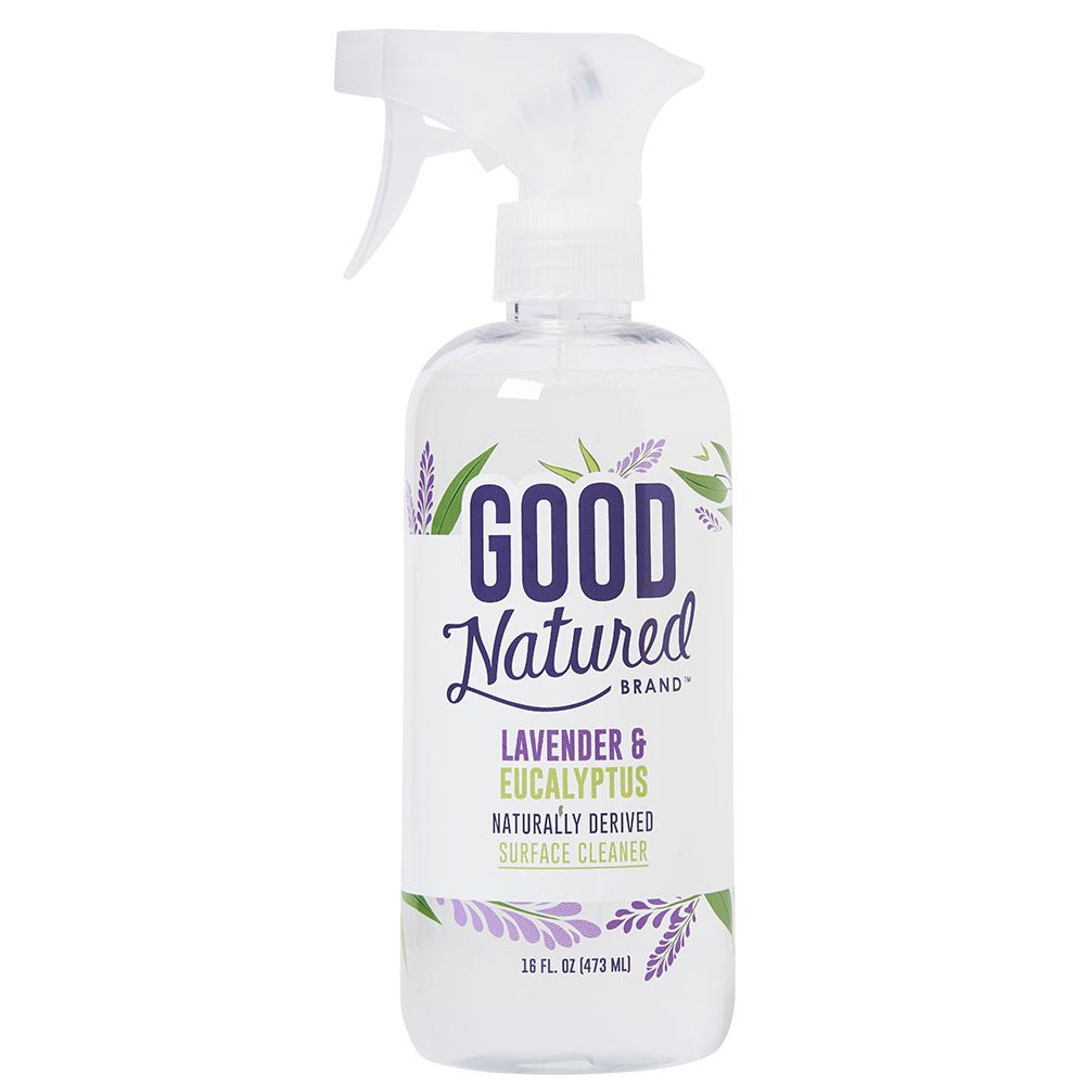 Good Natured Brand All-Natural Eco-friendly All-Purpose Lavender Surface Cleaner, the Best Household Multi-Surface Spray, Child and Pet Safe 16 fl. oz.
