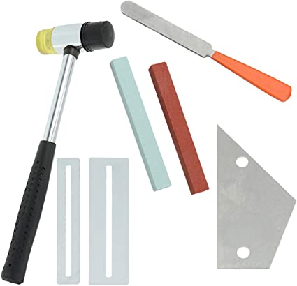 SUPVOX - Kit de herramientas para luthier de guitarra, trastes ...