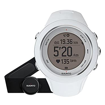 Suunto Ambit3 Sport HR Monitor Running GPS Unit, White