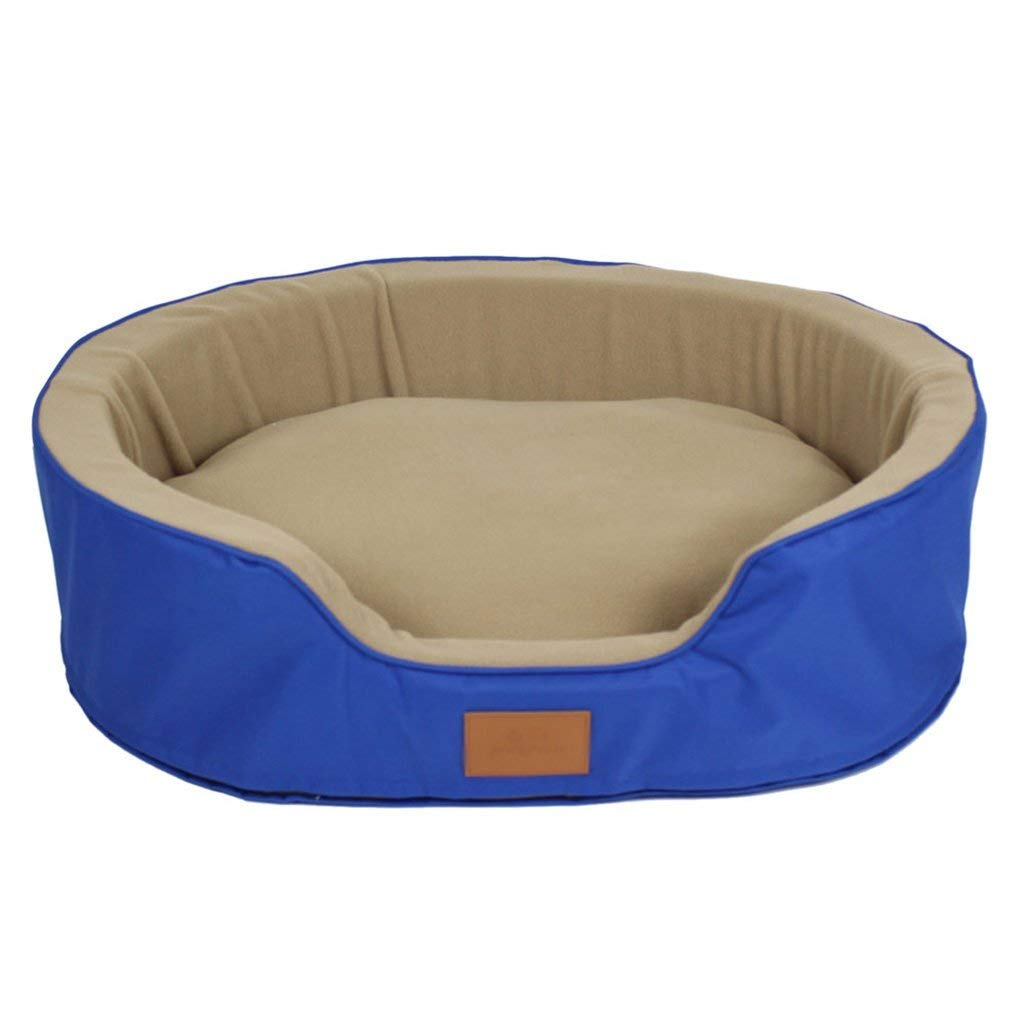82cm Gwanna Dogs Furniture Round or conical bluee ox nest litter cat litter and dog Soft Pad for Pets Sleeping (Size   82cm)