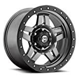 fuel anza wheels - 15X8 5X4.5 3.75BS D558 ANZA GUNMETAL MATTE - FUEL OFF-ROAD WHEELS