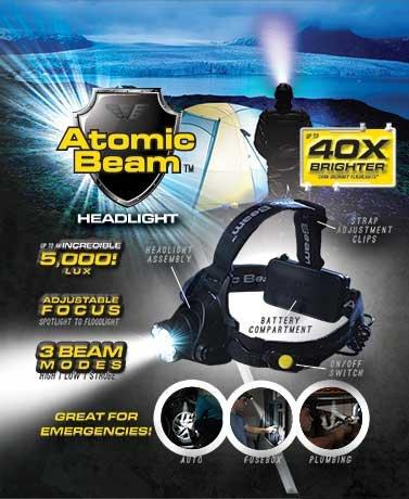 Atomic Beam Headlight