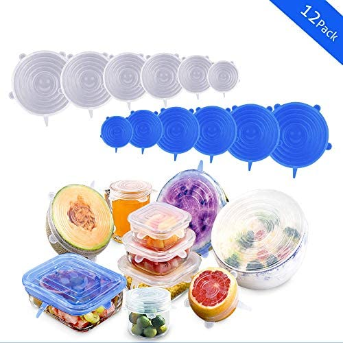 Silicone Reusable Stretchable Containers Microwave Dishwasher product image