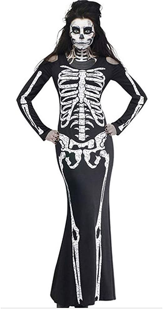 WANLN Disfraz de Halloween Disfraz de Terror Disfraz de Zombie ...
