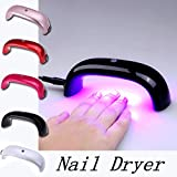 UltaPlay(TM) Portable 9W LED UV Lamp For Curing Nail Dryer Nail Gel Polish Dryer Curing Lamp Mini Nail Dryer for Nail Art Tools