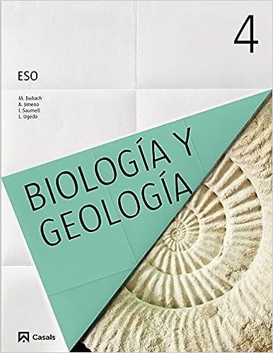 Biología Y Geología 4 Eso 2016 9788421860885 Amazon Es Vv Aa Libros