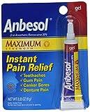 Anbesol Gel Maximum Strength, 0.33 oz