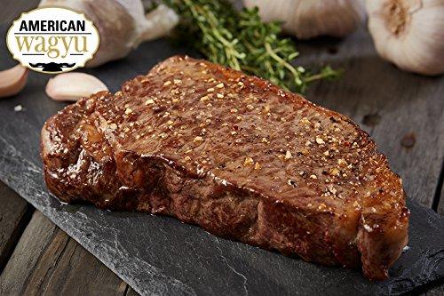 2 (8oz) Wagyu Kobe Style Boneless Strips - Chicago Steak Company - WAG152 2 8OZ