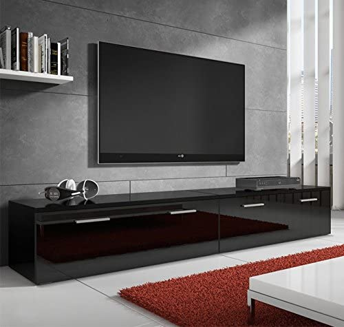 muebles bonitos – Mueble TV Modelo Arona Negro 2m: Amazon.es ...