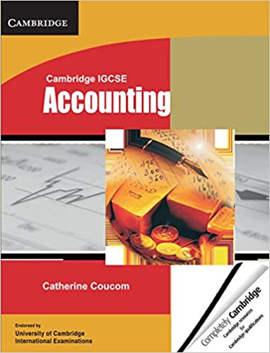 Cambridge IGCSE Accounting Student's Book (Cambridge International