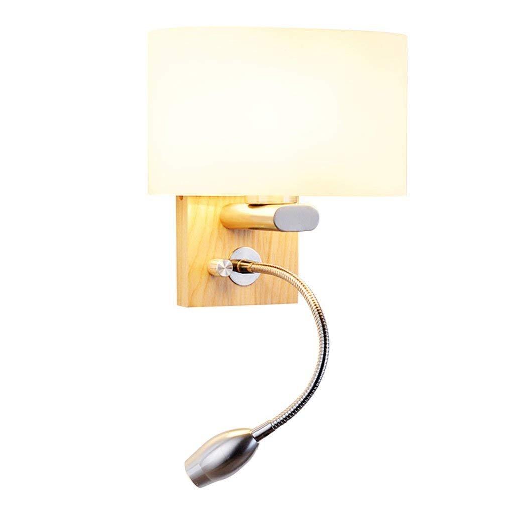 Wandleuchte helle und moderne Leselampe Studie einfach mit Plug Schlafzimmer Bedside LED Stroboskop LED Leselampe (Farbe  A)