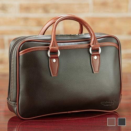 豊岡製・ダブルハンドル コンパクトバッグ 【 小さめ 鞄 セカンドバッグ ビジネスバッグ 】
