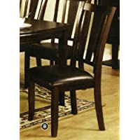247SHOPATHOME Idf-3336SC Dining-Chairs, Cappuccino