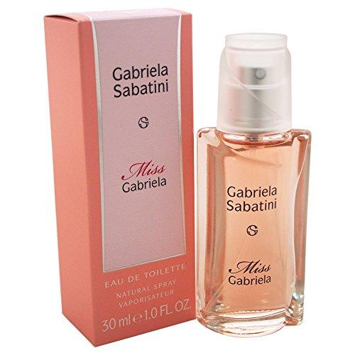 Gabriela Sabatini Miss Gabriela EDT Vapo 30 ml, 1er Pack (1 x 30 ml)