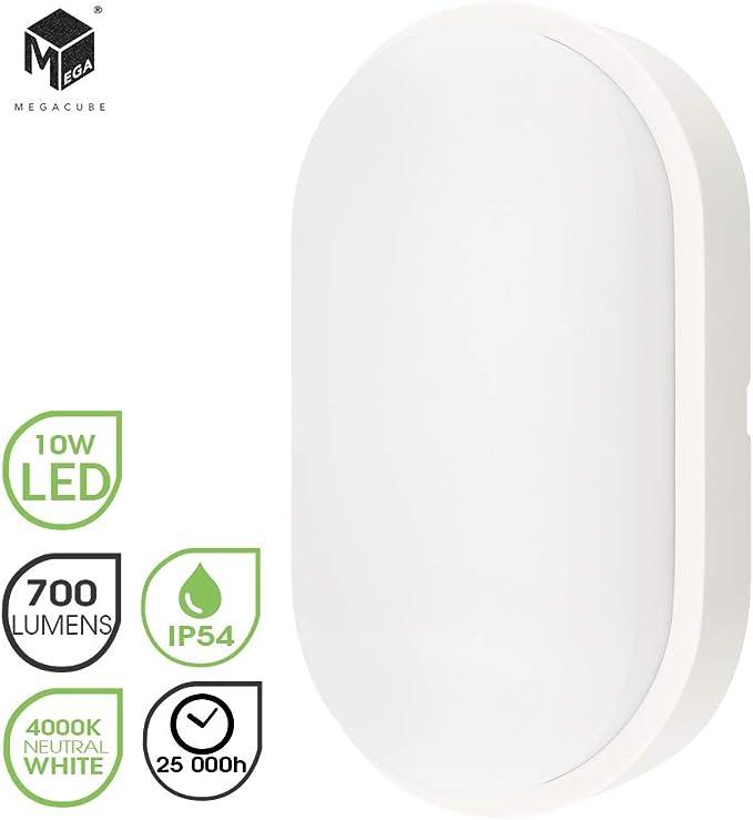 43 opinioni per Chestele Lampada da Parete LED Moderna Impermeabile ovale 10W 4000K IP54